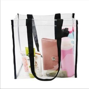 Handbags - Clear Transparent Tote